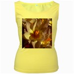 wallpaper_13855 Women s Yellow Tank Top