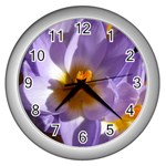 wallpaper_13855 Wall Clock (Silver)