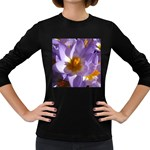 wallpaper_13855 Women s Long Sleeve Dark T-Shirt