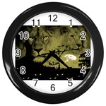 wallpaper_15601 Wall Clock (Black)
