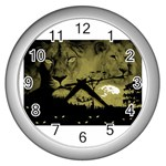 wallpaper_15601 Wall Clock (Silver)