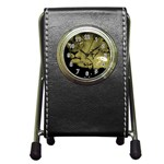 wallpaper_15601 Pen Holder Desk Clock