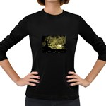 wallpaper_15601 Women s Long Sleeve Dark T-Shirt