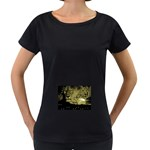 wallpaper_15601 Maternity Black T-Shirt