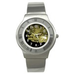 wallpaper_15601 Stainless Steel Watch