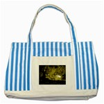 wallpaper_15601 Striped Blue Tote Bag