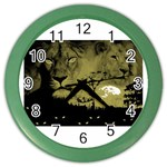 wallpaper_15601 Color Wall Clock