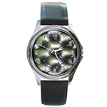 wallpaper_15632 Round Metal Watch