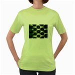 wallpaper_15632 Women s Green T-Shirt