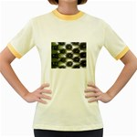 wallpaper_15632 Women s Fitted Ringer T-Shirt