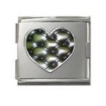 wallpaper_15632 Mega Link Heart Italian Charm (18mm)