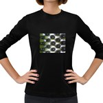wallpaper_15632 Women s Long Sleeve Dark T-Shirt