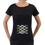 wallpaper_15632 Maternity Black T-Shirt