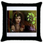 wallpaper_15924 Throw Pillow Case (Black)