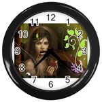 wallpaper_15924 Wall Clock (Black)