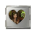 wallpaper_15924 Mega Link Heart Italian Charm (18mm)