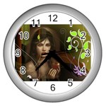 wallpaper_15924 Wall Clock (Silver)