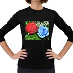 wallpaper_16293 Women s Long Sleeve Dark T-Shirt