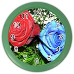 wallpaper_16293 Color Wall Clock