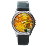 wallpaper_18294 Round Metal Watch