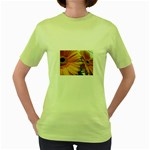 wallpaper_18294 Women s Green T-Shirt