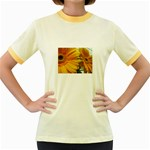 wallpaper_18294 Women s Fitted Ringer T-Shirt