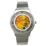wallpaper_18294 Stainless Steel Watch