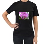 wallpaper_19193 Women s Black T-Shirt