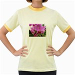 wallpaper_19193 Women s Fitted Ringer T-Shirt