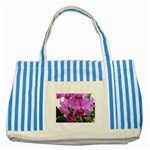 wallpaper_19193 Striped Blue Tote Bag