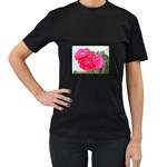 wallpaper_17044 Women s Black T-Shirt
