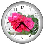 wallpaper_17044 Wall Clock (Silver)