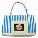 wallpaper_17147 Striped Blue Tote Bag