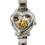 wallpaper_17805 Heart Italian Charm Watch
