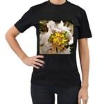 wallpaper_17805 Women s Black T-Shirt (Two Sides)