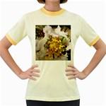 wallpaper_17805 Women s Fitted Ringer T-Shirt
