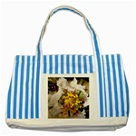 wallpaper_17805 Striped Blue Tote Bag