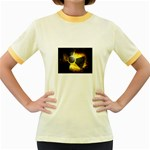 wallpaper_21592 Women s Fitted Ringer T-Shirt