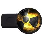 wallpaper_21592 USB Flash Drive Round (4 GB)