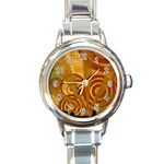 wallpaper_22315 Round Italian Charm Watch