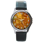 wallpaper_22315 Round Metal Watch