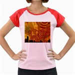 wallpaper_22315 Women s Cap Sleeve T-Shirt
