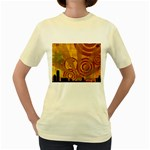 wallpaper_22315 Women s Yellow T-Shirt