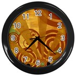 wallpaper_22315 Wall Clock (Black)