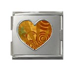 wallpaper_22315 Mega Link Heart Italian Charm (18mm)