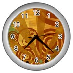wallpaper_22315 Wall Clock (Silver)