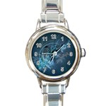 wallpaper_22774 Round Italian Charm Watch