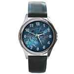 wallpaper_22774 Round Metal Watch