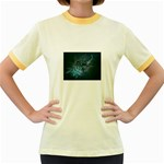 wallpaper_22774 Women s Fitted Ringer T-Shirt