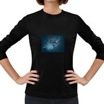 wallpaper_22774 Women s Long Sleeve Dark T-Shirt
